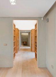 bibliotheek, spanplafond