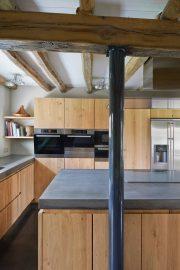 keuken, keukeneiland, polierbeton