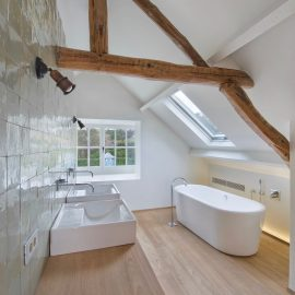 badkamer, bad, lavabo