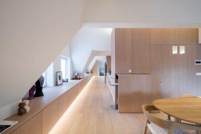 keuken, doorgang living